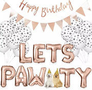 Owner Apparel - Let's Pawty! Pet Birthday Decorations
