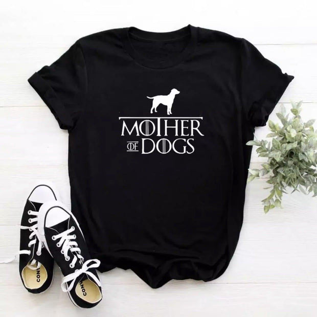Owner Apparel - Mother Of Dogs Women's Tee - Dog Mom Shirt