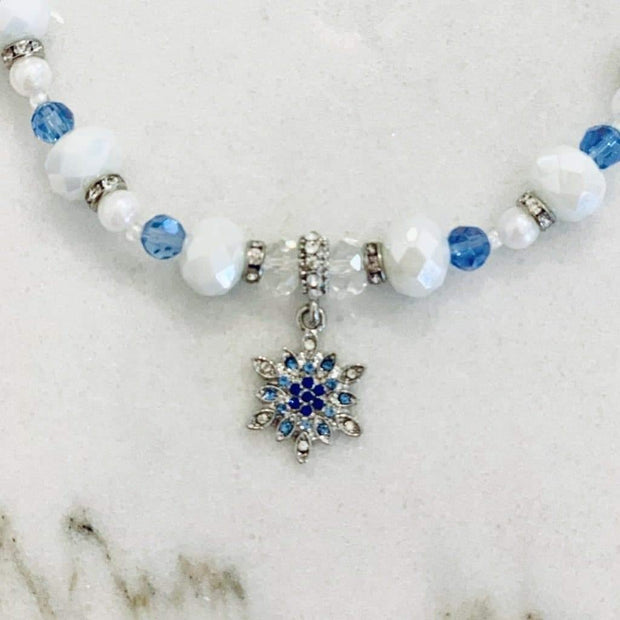 Pet Jewelry - Holiday Snowflake Pet Necklace