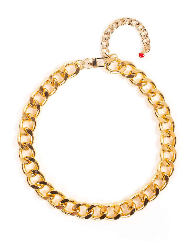 Pet Jewelry - The Notorious D.O.G. Gold Chain Pet Necklace