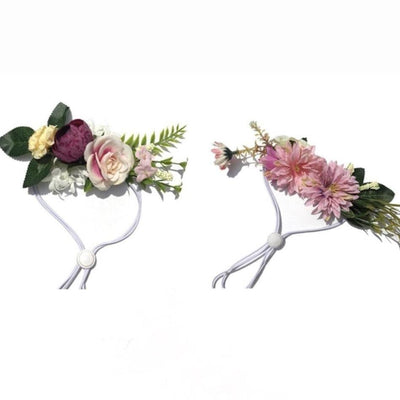 Pet Lifestyle - Adjustable Pet Flower Crown