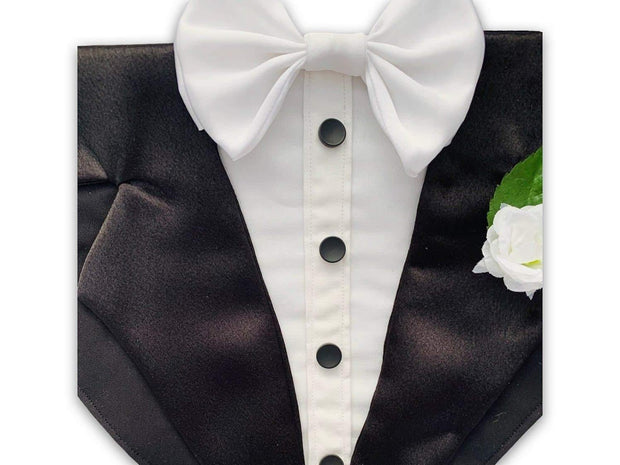 Pet Lifestyle - Bespoke Formal Pet Tuxedo Scarf