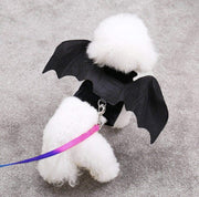 Pet Lifestyle - Black Bat Wings Soft Pet Costume Harness