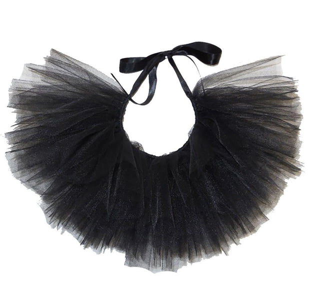 Pet Lifestyle - Black Tulle Dog Tutu