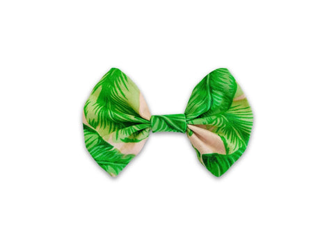 Pet Lifestyle - Boho Palms Pet Collar Bow Tie