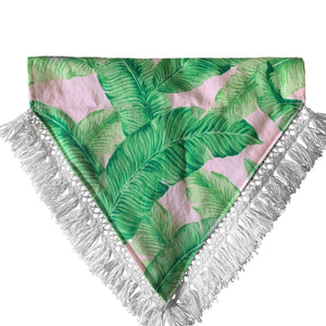 Pet Lifestyle - Boho Palms Pet Collar Scarf