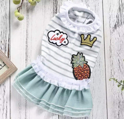 Pet Lifestyle - Cute Mint Tutu Pet Dress