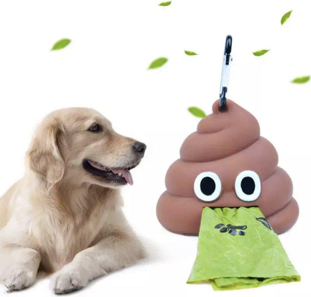 Pet Lifestyle - Funny Emoji Pet Waste Bag Dispenser