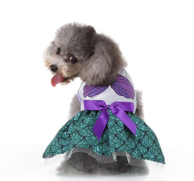 Pet Lifestyle - Mermaid Dog Costume
