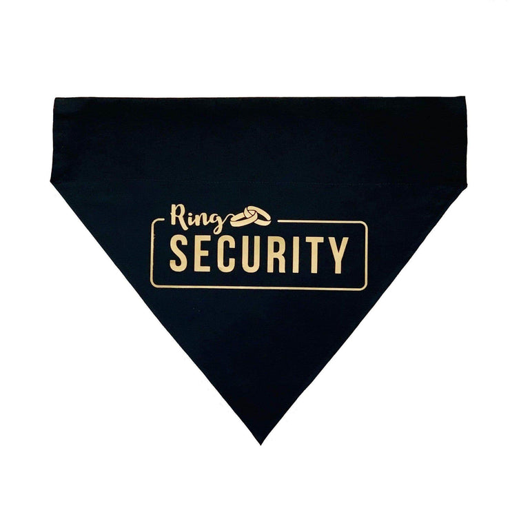 Pet Lifestyle - Pet Wedding Ring Security Collar Bandana