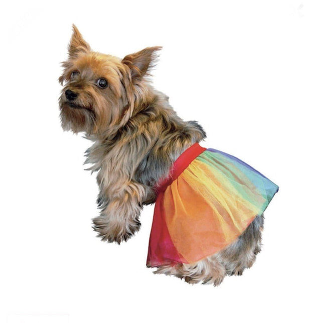 Pet Lifestyle - Rainbow Costume Pet Tutu