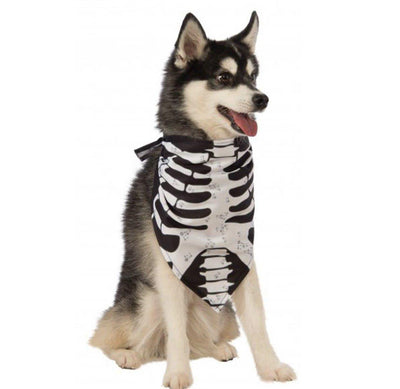 Pet Lifestyle - Skeleton Dog Bandana