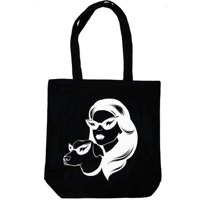 Pet Lifestyle - Superhero Dog Mom Tote Bag