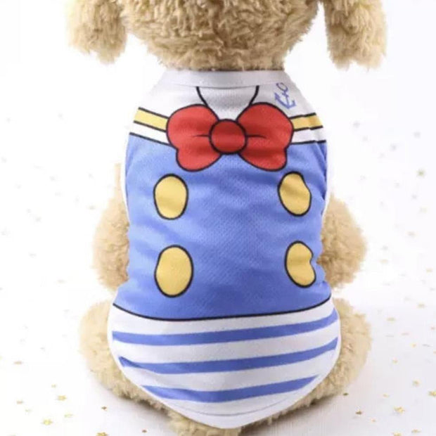 Pet Shirts - Classic Cartoon Character Costume Dog Shirts