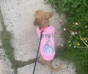 Pet Shirts - Pink Fleece Fashion Pet Sweatshirt