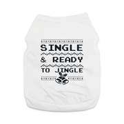 Pet Shirts - Single & Ready To Jingle - MOBF Funny Pet Christmas Shirt