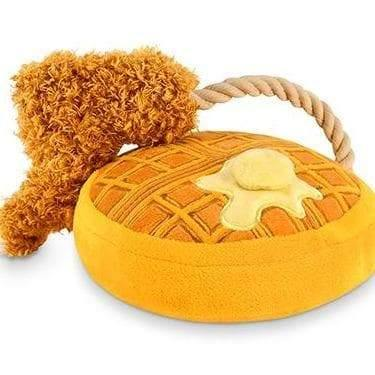 Pet Toys - Barking Brunch - Chicken & Woofles Plush Dog Toy