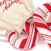 Pet Toys - Holiday Classic - Interactive Candy Canes Dog Toy