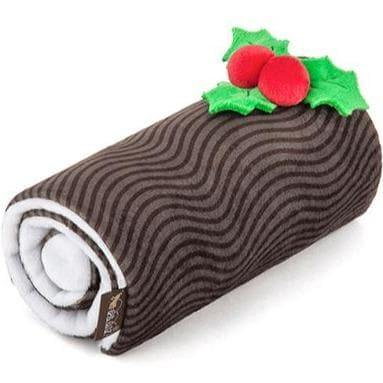 Pet Toys - Holiday Classic - Yummy Yule Log Plush Dog Toy