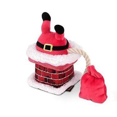 Pet Toys - Merry Woofmas - Clumsy Claus Dog Toy