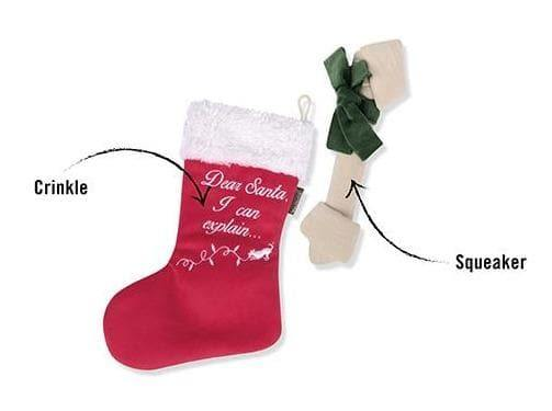 Pet Toys - Merry Woofmas - Good Dog Stocking Dog Toy