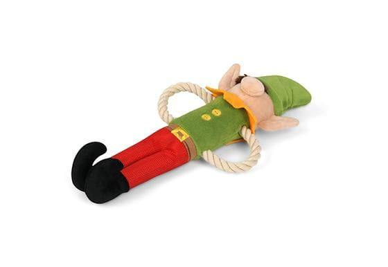 Pet Toys - Merry Woofmas - Santa's Little Elf Dog Rope Toy