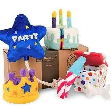 Pet Toys - Party Time - Bone-Appetit Cake Plush Dog Toy