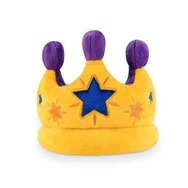 Pet Toys - Party Time - Canine Crown Plush Dog Toy