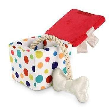 Pet Toys - Party Time - Pawfect Present Plush Dog Toy