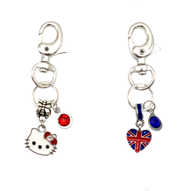 Sparkling Rhinestone Pet Collar Charms