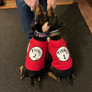 Thing 1 and Thing 2 Matching Pet Shirts
