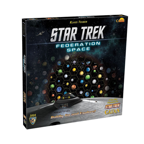 Star Trek Catan: Federation Space Expansion