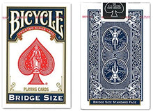 Load image into Gallery viewer, Bicycle Bridge Size Playing Cards (Colors May Vary)