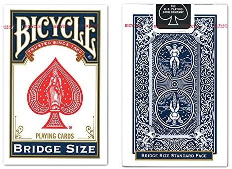 Bicycle Bridge Size Playing Cards (Colors May Vary)