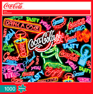 Coca Cola: Neon Fluorescent Puzzle (1000 pieces)
