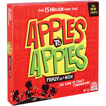 Load image into Gallery viewer, Mattel Apples to Apples Party Box The Game of Crazy Combinations