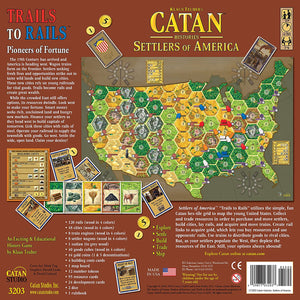 Catan: Catan Histories - Settlers of America Trails To Rails (stand alone)