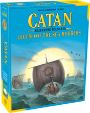 Load image into Gallery viewer, Catan: Legend of the Sea Robbers Expansion