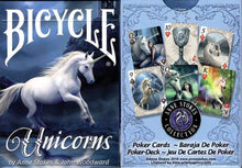 Load image into Gallery viewer, Bicycle Anne Stokes Unicorns Playing Cards