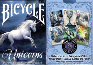 Bicycle Anne Stokes Unicorns Playing Cards