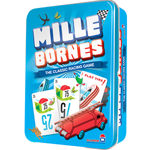 Mille Bornes - The Classic Racing Game Tin