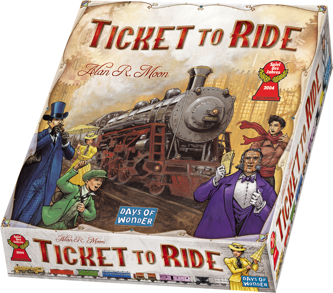 Ticket To Ride - Play With Alexa