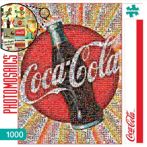 Photomosaic - Coca Cola Puzzle (1000 pieces)