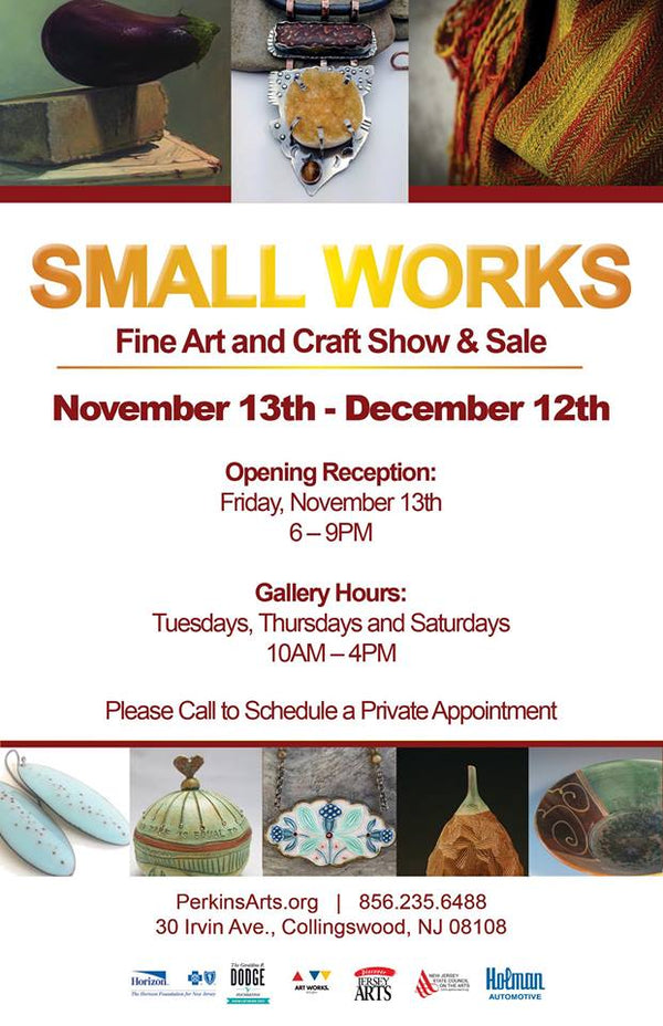 Stacey Fay Designs featured in Perkins Center for the Arts Fine Arts Craft Show and Sale!