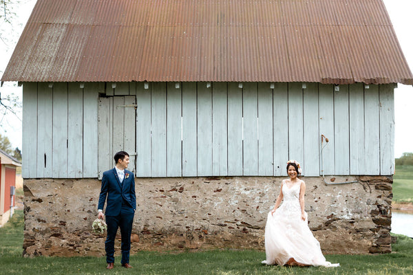 Vintage Jewelry for a Countryside Elopement