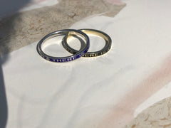 mourning remembrance ring