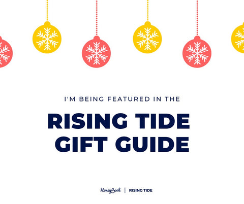 Rising Tide Society and Honeybook 2019 gift guide