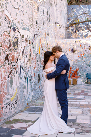 Philadelphia's Magic Gardens wedding