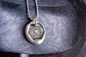 May it Watch Over You Necklace