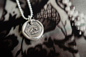 Equality rabbits charm necklace